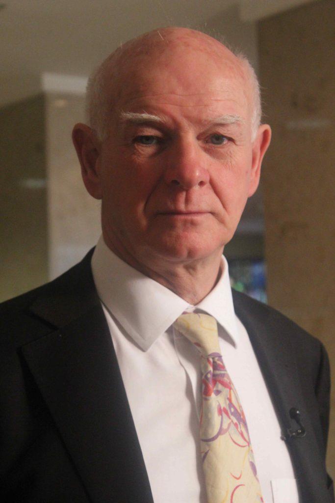 Sir Howard Davies - photo copyright Sally Gethin