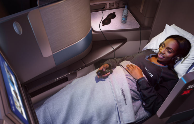 A good night's sleep in Polaris onboard United Airlines