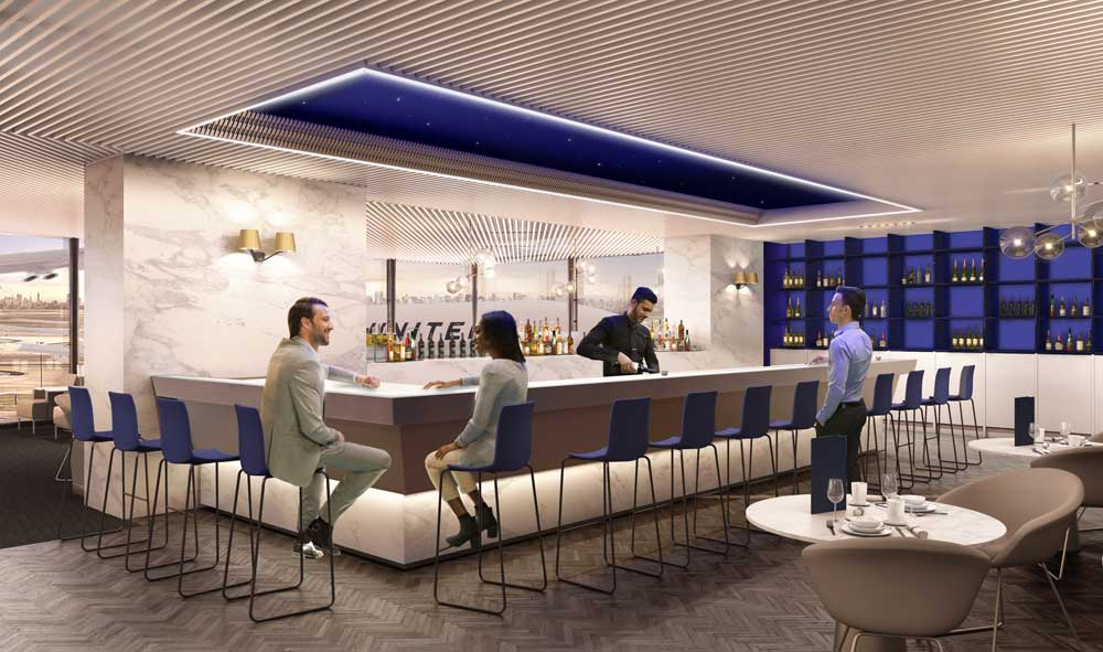 United-Polaris-business-class-lounge-bar