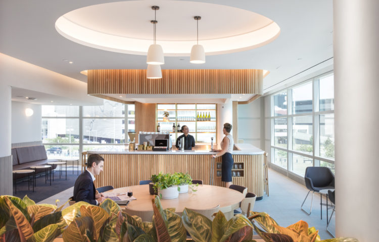 Qantas features new wine bar and hydration bar